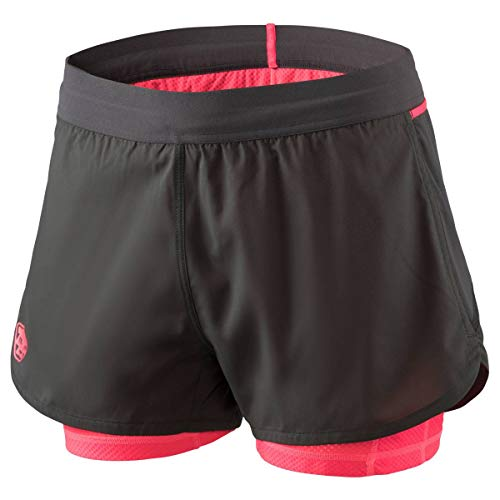 Dynafit Alpine Pro 2in1 Shorts Damen Asphalt Gr. 38