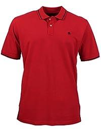 Kitaro Poloshirt Polo Shirt Herren Kurzarm Baumwolle Piqué Plusgröße  Übergröße, ... 65af784eb8