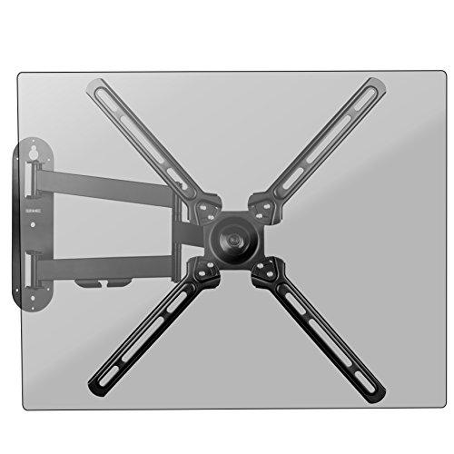 Duronic TVB1130 Support TV Mural orientable - 13 à 50 Pouces / 33 à 127 cm – VESA 400/200 / 100/75