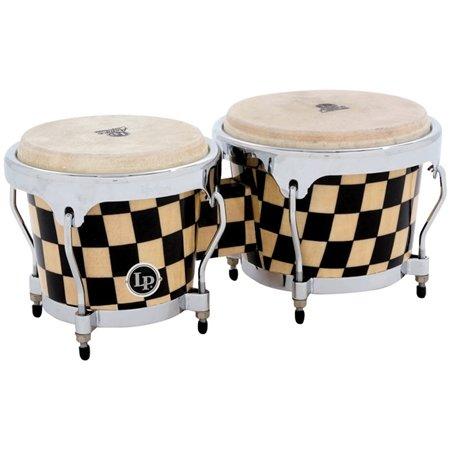 LP Latin Percussion LP810550 Aspire Accent Bongo Checkerboard