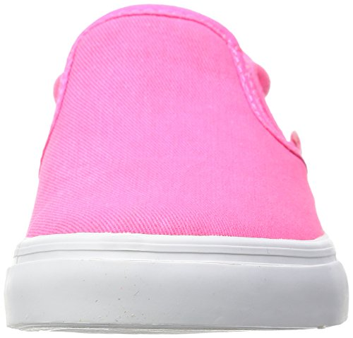 Hummel Unisex-Kinder Slip-On Canvas Jr Sneakers Pink