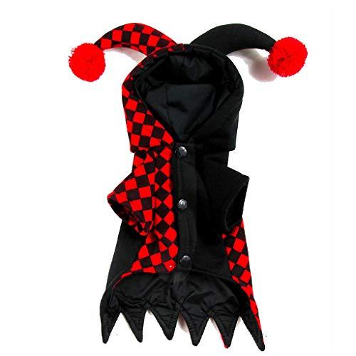 (Halloween Pet Kostüm, Hund Halloween Kleidung (Farbe : SCHWARZ, größe : Xs))