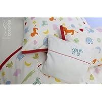 dd4d224c7f Cotonea Satin Kopfkissen Kinder-Bettwäsche