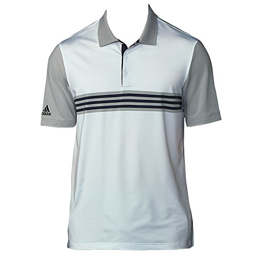Adidas Golf 2018 Mens Ultimate 365 3-Stripes Engineered Golf Polo Shirt