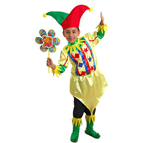 Disfraz de bufón para niño - De 2 a 4 años