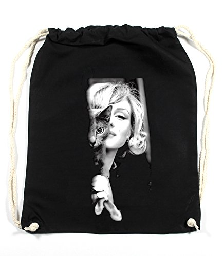 Certified Freak Marilyn Cat Sac De Gym Noir