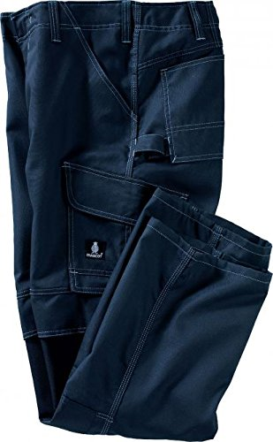 "Preisvergleich Produktbild Mascot Hose ""Houston"", 1 Stück,  82C56, schwarz-blau, 10179-154-010-82C56"
