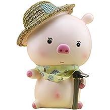 5e9792e6dd710 SUPVOX Piggy Bank Cartoon Moneybox Decoración Decorativa de Escritorio de  Ahorro de Resina de Banco (