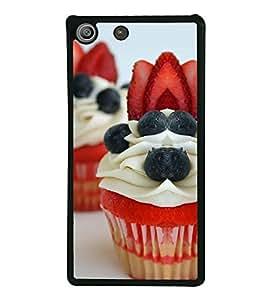 ifasho Designer Back Case Cover for Sony Xperia M5 Dual :: Sony Xperia M5 E5633 E5643 E5663 (Cake Budapest Hungary Barmer)