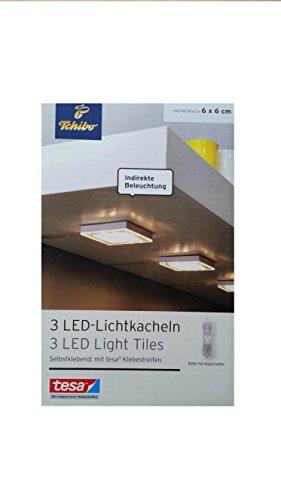 tcm-tchibo-3-led-lumiere-carrelage-autocollant-eclairage-lumiere-lampe