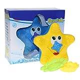 WINBST Spray Wasser Badespielzeug elektronische Wasserball Badespielzeug mit Licht für Kleinkinder...