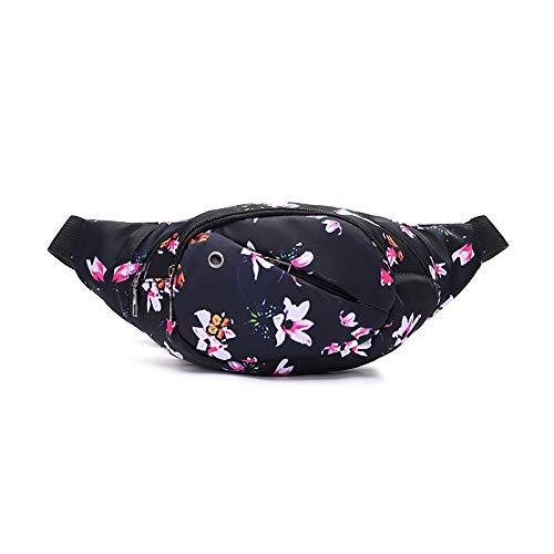 Rucksack Mode Druckfarbe Multifunktions Casual Taschen Damen Outdoor Kleine Tasche Geldbörse Persönlichkeit Charme Frische Wilde Lilie -