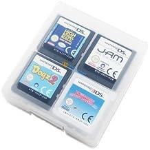 Decrescent Estuche de Tarjetas para 16 Juegos Nintendo 3DS, 2DS, DSi, DS Lite & Original DS - Transparente