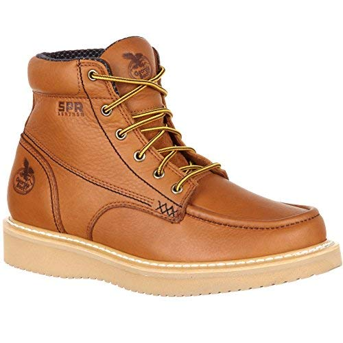 Georgia Men's Wedge Steel Toe Work Boots Ultra Moc
