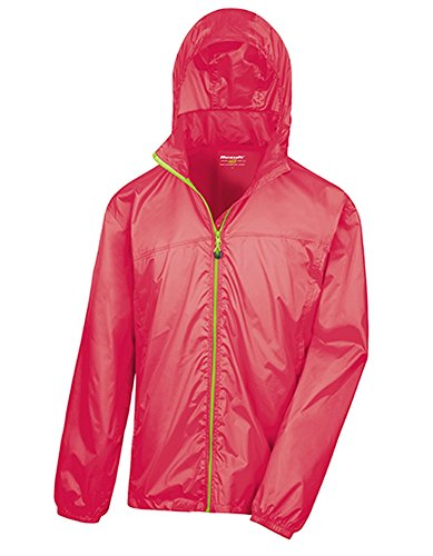 Result Urban HDi Quest Lightweight Stowable Jacket Raspberry-Lime