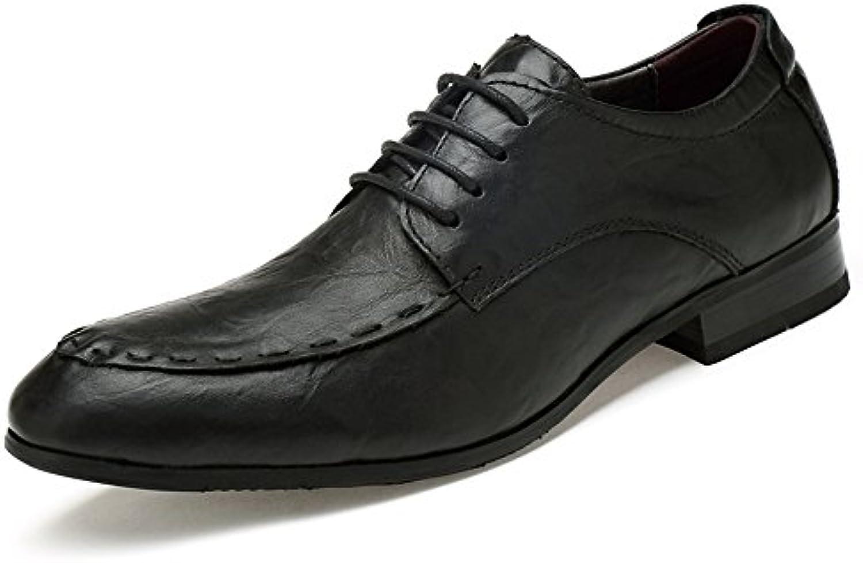 SRY-Scarpe di Moda Men's Men's Men's Simple Business Oxford Scarpe Classiche Inglesi Confortevoli in Pelle Casual Classica | Prestazione eccellente  ebe770