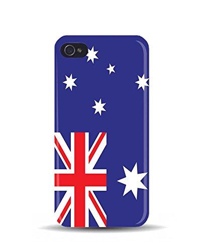 iPhone 5/5S Drapeau Australie Pays monde 3D Coque téléphone portable