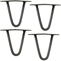 [en.casa] Set de 4 Patas de Horquilla - Hairpin Legs - de Acero