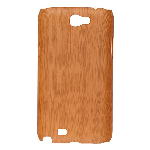 iCandy™ Plastic Hard Back Cover For Samsung Galaxy Note 2 N7100 - Wooden  available at amazon for Rs.165