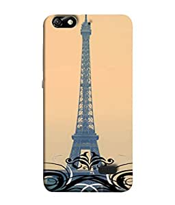 Fuson Designer Back Case Cover for Huawei Honor 4C :: Huawei G Play Mini (Eiffel Tower Europe Seven Wonders 7 wonder Love )