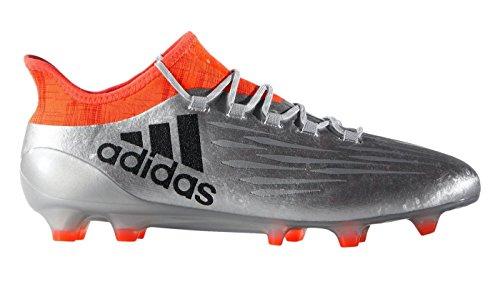 adidas Herren X 16.1 FG Fußballschuhe Plateado (Plamet / Negbas / Rojsol)