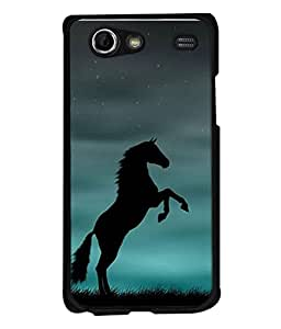 Samsung Galaxy S Advance i9070 Back Cover Winning Horse At Sunset Design From FUSON