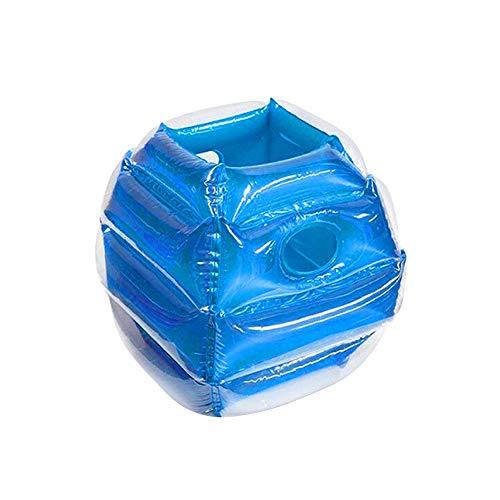 FGASAD Body Bumper Bälle, menschlicher Knocker Ball, tragbar, aufblasbar, für Erwachsene und Kinder Spielzeug, blau, 25inch