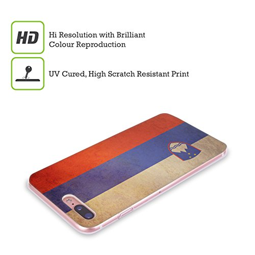 Head Case Designs République Démocratique Du Congo Congolais Drapeaux D'époque 5 Étui Coque en Gel molle pour Apple iPhone 6 / 6s Slovénie Slovène