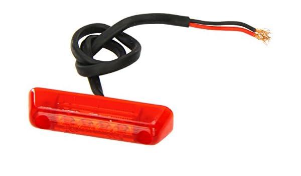 Jokon LED Begrenzungsleuchte S 24-2 rot
