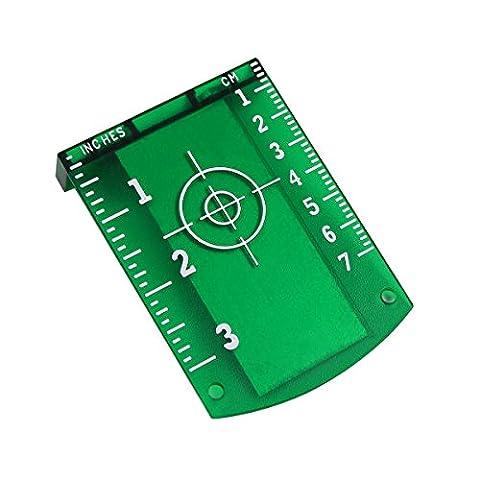 Laser carte Cible pour laser Instruments..., vert