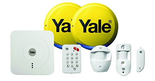 Yale SR-330 Smart Home Alarm and Viewing Kit - White by Yale