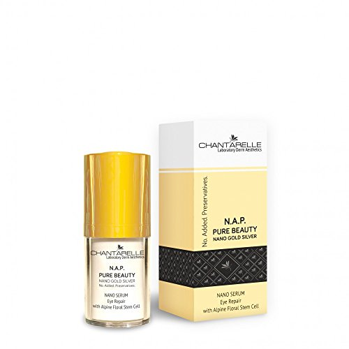 N.A.P. PURE BEAUTY Eye Repair Nano Anti-Aging Augenserum 15ml - mit Hyaluronsäure und Stammzellen...