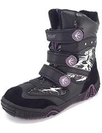 Woolf Woolf-Tex Boots, schwarz/violett