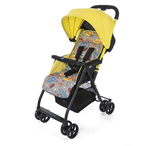 Ohlalà es la silla ultraligera de Chicco, con un diseño llamativo de líneas modernas ¡Es muy fácil de manejar, plegar y transportar ya que tan sólo pesa 3,800 Kg. Homologada desde el nacimiento hasta los 15 kg, está diseñada para proporcionar el máxi...
