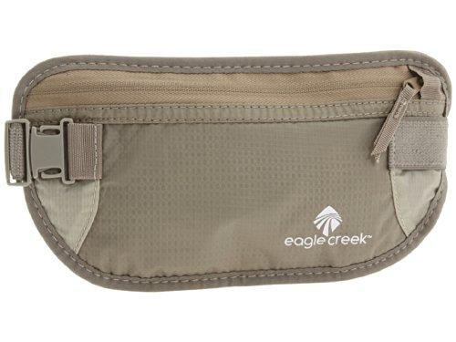 Eagle Creek Flache Hüfttasche für Sport und Reisen, Khaki - Geld-gürtel Für Männer