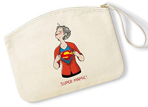 rigolobo Cadeau Mamie : Pochette Super Mamie signée Nathalie Jomard
