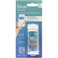 Fluidra Blue Check - Tiras de Análisis 5-en-1 con Aplicación de Mantenimiento de Piscina