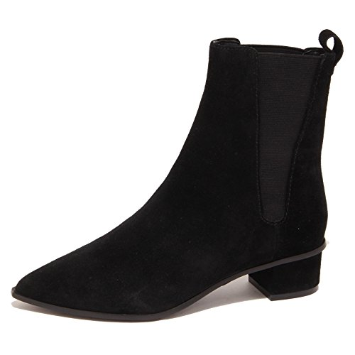 5654O stivaletto mira ASH nero polacchino donna boot shoe woman Nero