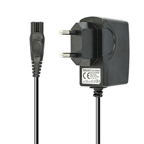 220V Netzteil Ladegerät Ladekabel 7.5W (15V/0.5A) 1,2m für Philips Rasierer der HQ-, HS-, RQ-, AT-, PT-Serie, Philips PT860/16, AT750, AT751, AT752, AT753