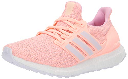 ADIDAS - Zapatillas de Running de Tela para Mujer Grey/White/Purple 38.5 EU