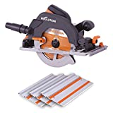 Evolution R185CCSX Multi-Material Track Saw (Combination Pack), 185 mm, 230 V