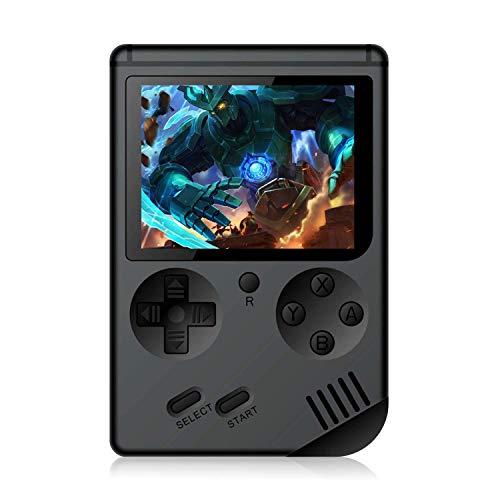 CXYP Consola de Juegos, 3 Pulgadas Consola de Juegos portátil Pantalla HD Consola de Juegos Retro con 168 Juegos Salida de TV Jugador del Juego Consola de Juegos clásica para Regalo de niños