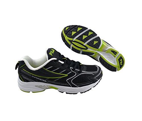 Fila New Voltage FS11PRW092 Damen Sportschuhe - Running Schwarz/black/celery/white