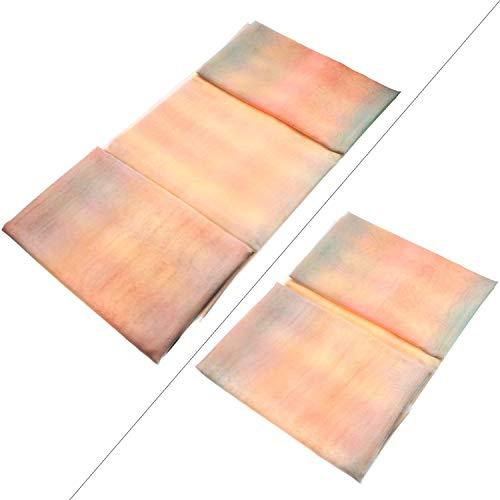 Lvcky Rainbow Organza 16Füße von 137,2cm Voile Bunte -