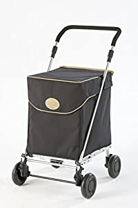 New Sholley Classic with black Bag, the best folding shopping trolley or walker on the market.