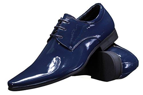 Goor - Chaussure Derbie 6828 1 Marine Bleu