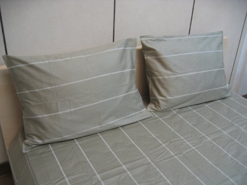 DaDa Bedding Dada Betten fst82932-teilig Streifen Baumwolle-Bettlaken-Set, - Twin Clearance Tröster Sets