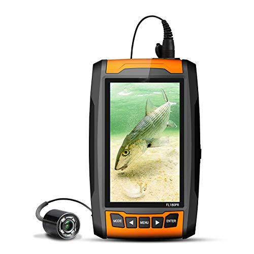 AI LIFE Unterwasserfischen-Kamera Portabler Fischfinder mit hoher Auflösung Kamera mit Infrarotlichter Unterwasserkamera zum Eisfischen Hochseefischen