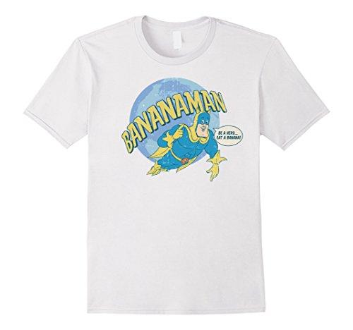 Official Licensed Bananaman T-shirt for Men, Women or Kids