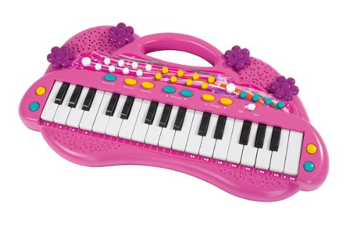 Preisvergleich Produktbild Simba 106830692 - My Music World Girls Keyboard 39cm
